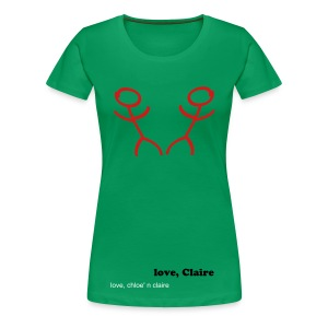 2 people chloe - Women's Premium T-Shirt