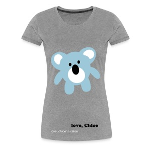 chloe bear - Women's Premium T-Shirt