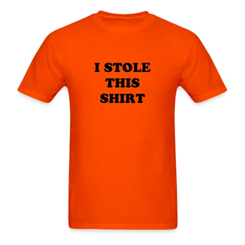 Men's T-Shirt - stole shirt funny mad sad angry