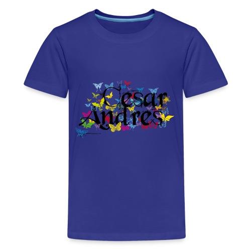 Spring Name César Andrés - Kids' Premium T-Shirt