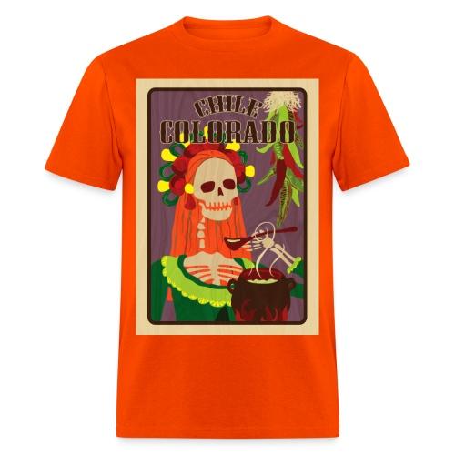 chile colorado - Men's T-Shirt