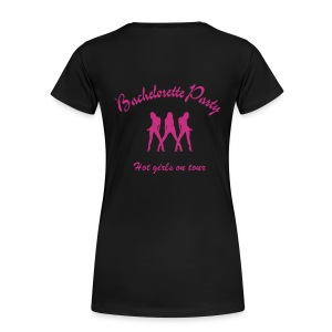 Women's Premium T-Shirt - Logo on back