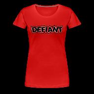 Women's T-Shirts ~ Women's Premium T-Shirt ~ Women's Plus Size Defiant T-Shirt