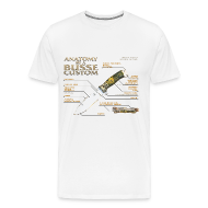 T-Shirts ~ Men's Premium T-Shirt ~ Anatomy of a Custom Mens Tee