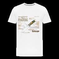 T-Shirts ~ Men's Premium T-Shirt ~ Anatomy of a Custom Mens Tee