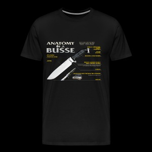 Anatomy of a Busse Mens Tee - Men's Premium T-Shirt