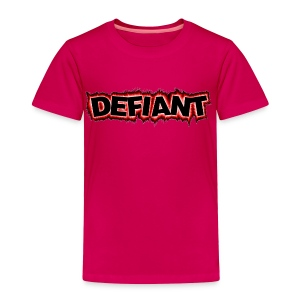 Toddler's Defiant T-Shirt - Toddler Premium T-Shirt