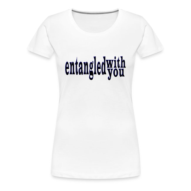 Entangled with You Fitted-tee