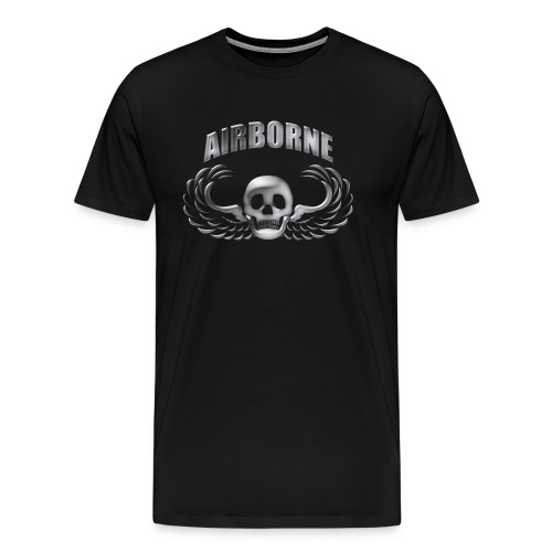 Winged Skull - Men's Premium T-Shirt