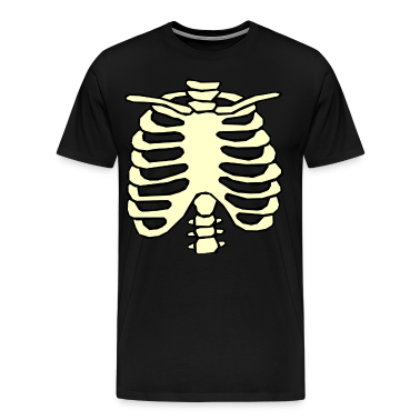 Halloween Chest Ribs Skeleton rib cage T-Shirts