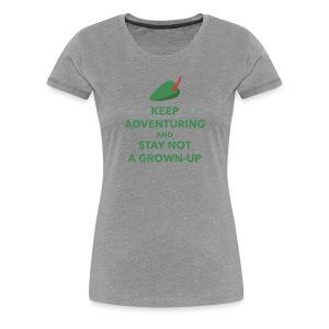 Women's Keep Adventuring - Women's Premium T-Shirt