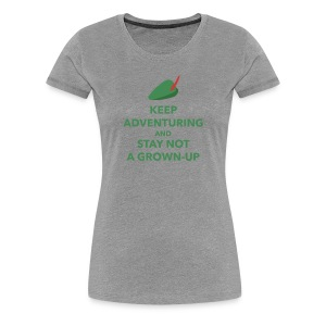Women's Keep Adventuring - Women's Premium T-Shirt