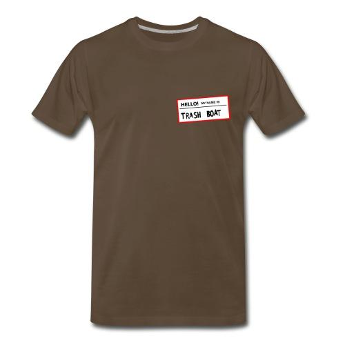 Dude! I changed my name to Trash Boat! - Men's Premium T-Shirt