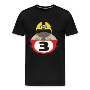 Joey Dunlop No 3 - Men's Premium T-Shirt