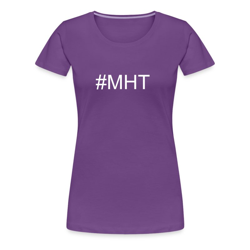 #MHT Fitted Classic Fit T-shirt - Women's Premium T-Shirt