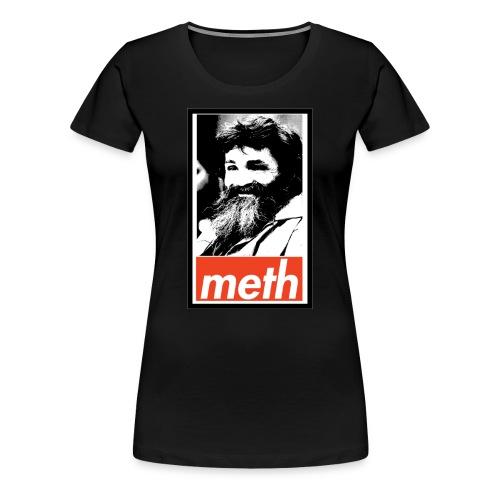 Manson's Meth Women's Fitted T-shirt - Women's Premium T-Shirt