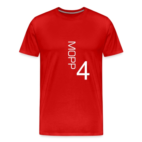 Traditional MOPP4 t-shirt with white lettering  - Men's Premium T-Shirt