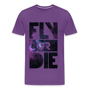Official JE7 Fly Or Die T-Shirt - Men's Premium T-Shirt