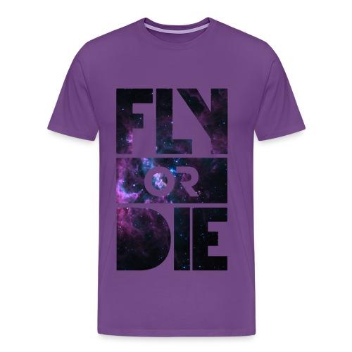 Official JE7 Fly Or Die T-Shirt - Men's Premium T-Shirt