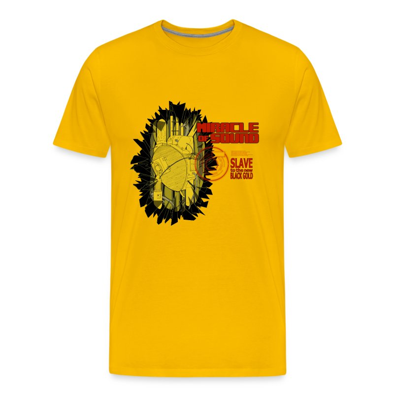 New Black Gold Tee Mens - Men's Premium T-Shirt