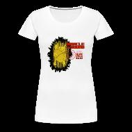 Women's T-Shirts ~ Women's Premium T-Shirt ~ New Black Gold Classic Tee Womens