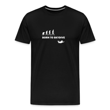 born to skydive T-Shirts
