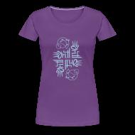 Women's T-Shirts ~ Women's Premium T-Shirt ~ Elemental women's T