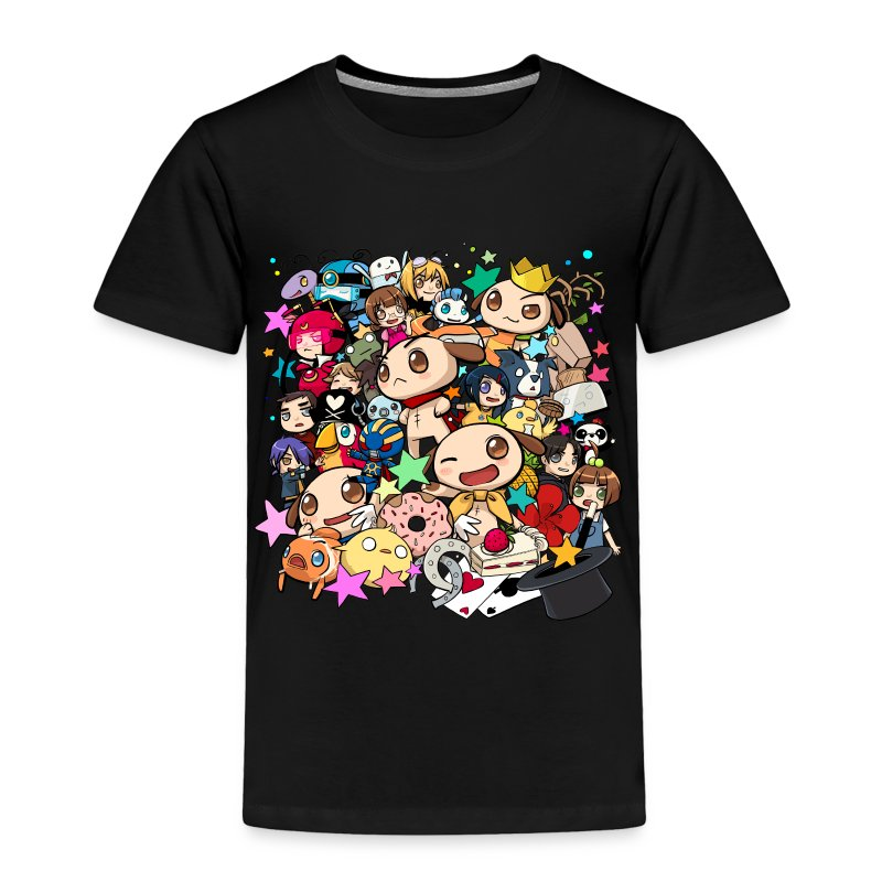 7th Anniversary - Toddlers [ANY COLOR] - Toddler Premium T-Shirt