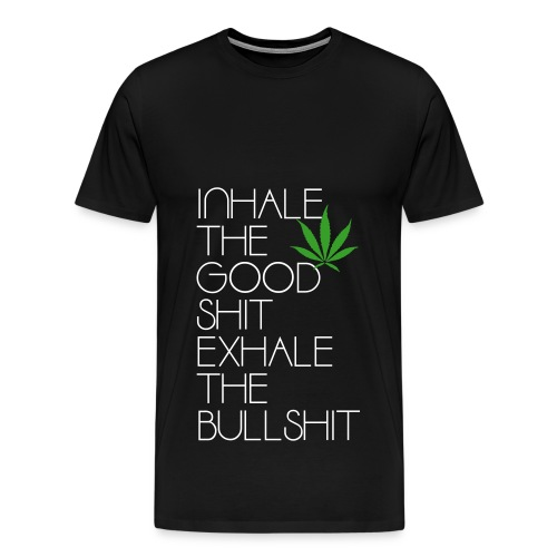 Inhale / Exhale - Men's Premium T-Shirt