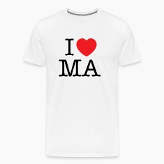 I Love Massachusetts T-shirt