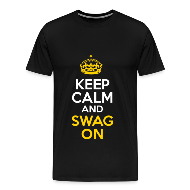 KCCO - Keep Calm and Swag On T-Shirts