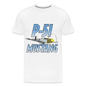 P-51 Mustang - Men's Premium T-Shirt