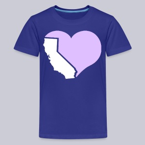 Heart California Heart - Kids' Premium T-Shirt