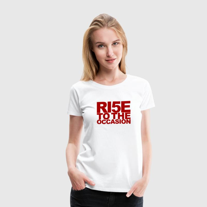 Louisville Cardinals Rise to the Occasion - Women's Premium T-Shirt