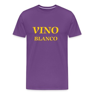 Vino Blanco - Men's Premium T-Shirt
