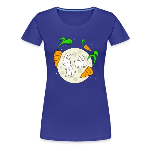 Moon Bunnies - Women's Premium T-Shirt