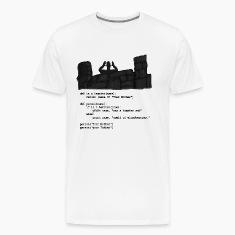 Python Code  - Your Mother was a hamster T-Shirts