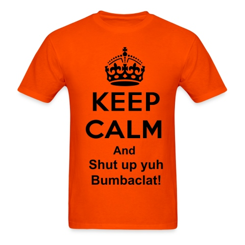 Keep calm bumbaclat - Men's T-Shirt