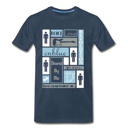 Composition CNblue 2 - Men's Premium T-Shirt