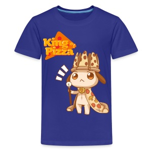 King of Pizza - Kids [ANY COLOR] - Kids' Premium T-Shirt