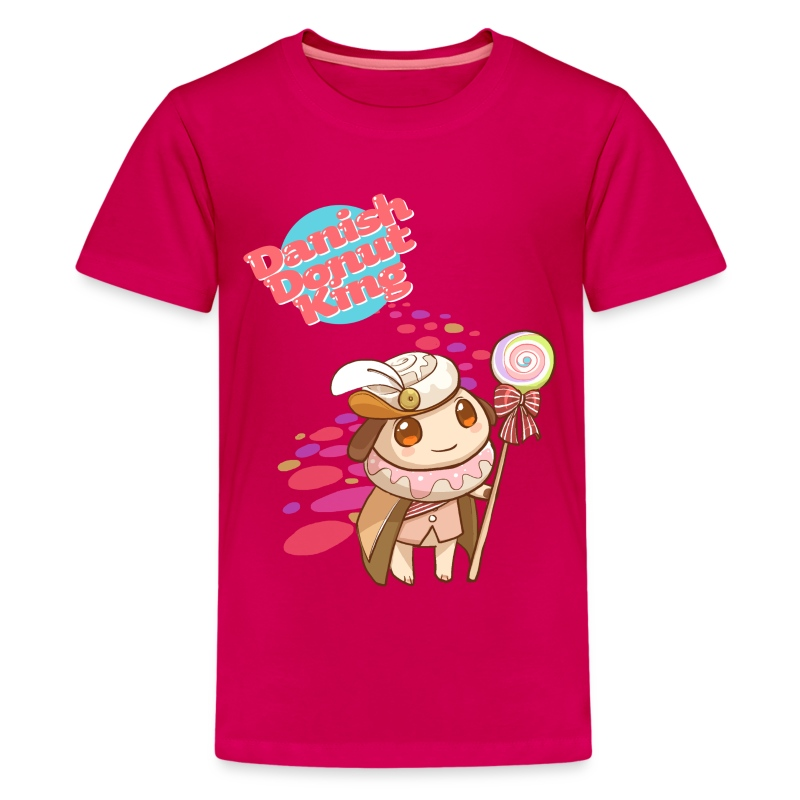 Donut King - Kids [ANY COLOR] - Kids' Premium T-Shirt