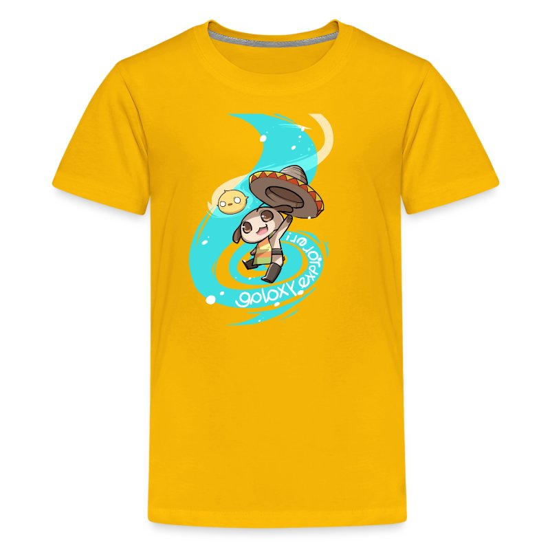 Enchilada Galaxy Explorer - Kids [ANY COLOR] - Kids' Premium T-Shirt