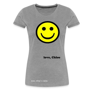 smiley chloe - Women's Premium T-Shirt