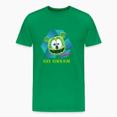 Gummibär Recycle Earth Day Men's T-Shirt