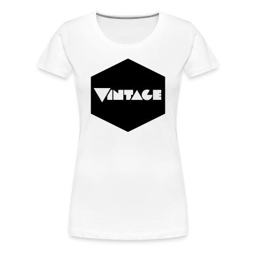 Vintageness 01 - Women's Premium T-Shirt
