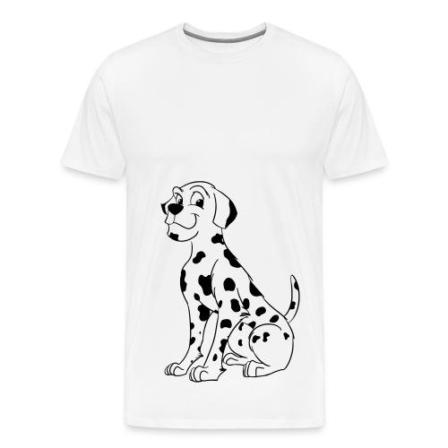 Dog Cartoon T-Shirt - Men's Premium T-Shirt