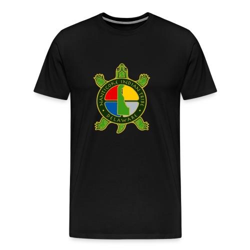 Nanticoke Indian Tribe - Men's Heavyweight T-Shirt - Men's Premium T-Shirt