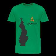 T-Shirts ~ Men's Premium T-Shirt ~ Men's Climb T-shirt (Black)