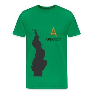 Men's Climb T-shirt (Black) - Men's Premium T-Shirt
