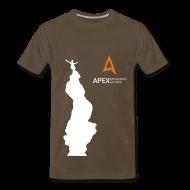 T-Shirts ~ Men's Premium T-Shirt ~ Men's Climb T-shirt (White)